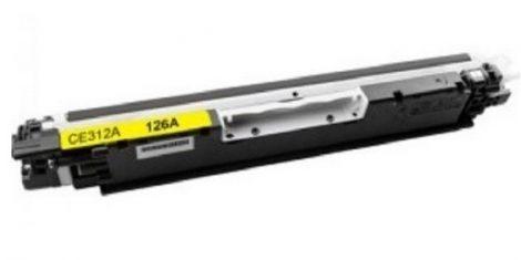 HP CE312A, 126A (sárga-yellow) utángyártott prémium toner