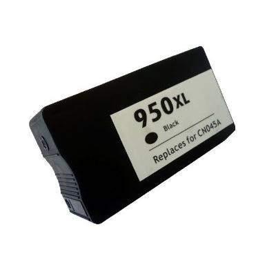 HP 950 XL / CN045AE XL kapacitású fekete-black prémium utángyártott tintapatron- hewlett packard