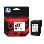 HP C2P10AE Black No.651 tintapatron eredeti