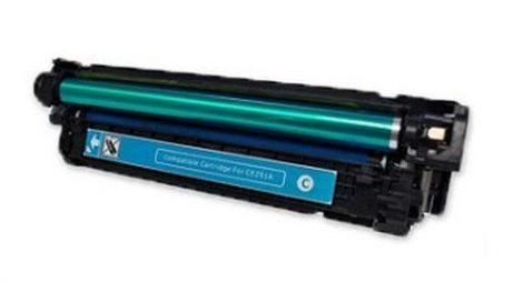 HP CE251A, 504A  (c. kék) utángyártott prémium kategóriájú toner / HP Color LaserJet CM3530fs HP Color LaserJet CP3525x HP Color LaserJet CP3525dn/