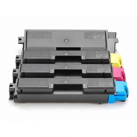 Kyocera TK-580 black, fekete (FS-5150, Kyocera Mita FS-C5150, Ecosys P6021) utángyártott prémium toner, (tk580)