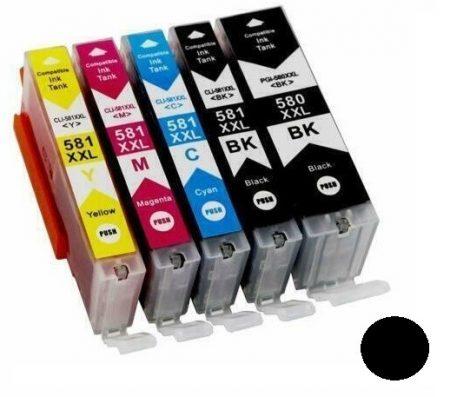 CANON PGI-580 XXL Black-fekete utángyártott tintapatron, patron PGI580