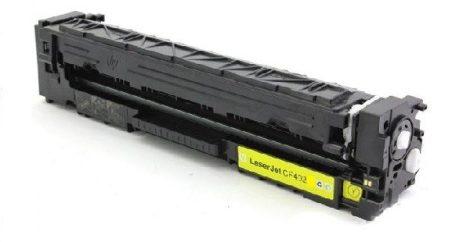 HP CF402X, 402A (201X, 201A), YELLOW, SÁRGA prémium utángyártott TONER, 2400 oldal, NAGY KAPACÍTÁSÚ