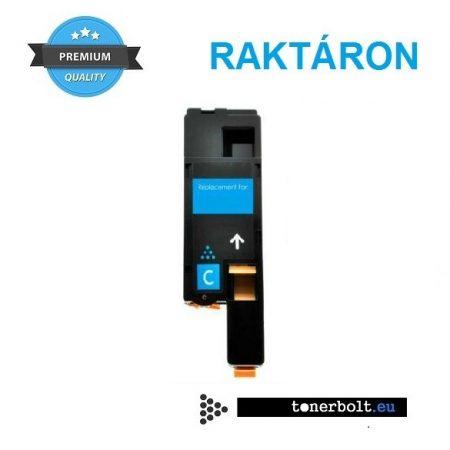 Xerox 6020, 6022, 6025, 6027 utángyártott prémium toner - CYAN, kék (Phaser 6020,6022,WorkCentre 6025,6027)  - 106R02760