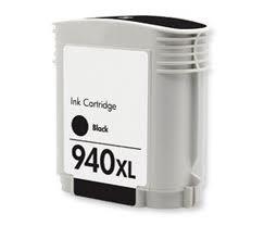 HP 940 XL (bk, fekete) extra kapacitású (68 ml!) prémium utángyártott chipes tintapatron