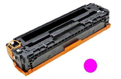 HP CB543A (m, bíbor) utángyártott prémium kategóriájú toner / HP CP1215, CP1518, CM1312/