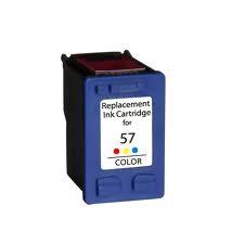 HP 57 / 6657A XL kapacitású színes-color prémium utángyártott tintapatron, patron- hewlett packard