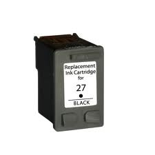 HP 27 / C8727AE XL kapacitású fekete-black prémium utángyártott tintapatron- hewlett packard