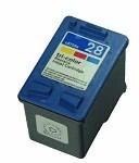 HP 28 XL / C8728AE XL kapacitású színes-color prémium utángyártott tintapatron, patron- hewlett packard