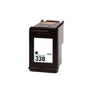 HP 338 / C8765EE XL kapacitású fekete-black prémium utángyártott tintapatron, patron- hewlett packard