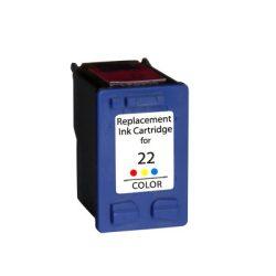 HP 22 XL, C9352A, XL kapacitású  prémium utángyártott tintapatron, patron (560 oldal)