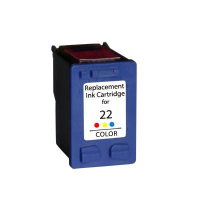 HP 22 XL C9352A/C9352CE XL kapacitású színes-color prémium utángyártott tintapatron, patron - hewlett packard