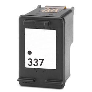 HP 337 / C9364EE XL kapacitású fekete-black prémium utángyártott tintapatron, patron - hewlett packard