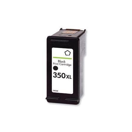HP350 XL / CB336EE XL kapacitású  fekete-black prémium utángyártott tintapatron, patron- hewlett packard
