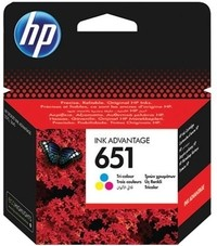 HP C2P11AE Color No.651 tintapatron eredeti
