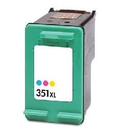 HP 351 XL / CB338EE XL kapacitású színes-color prémium utángyártott tintapatron, patron- hewlett packard