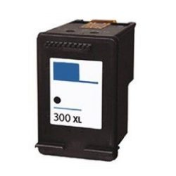 HP 300 XL bk (CC641E) fekete prémium utángyártott tintapatron, patron, 600 oldal, 18ml