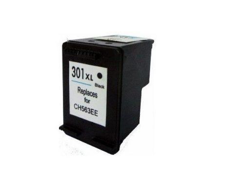 HP 301 XL CH563EE/CH561EE fekete/black  prémium utángyártott tintapatron, patron, XL: 600 oldal/18ml - hewlett packard