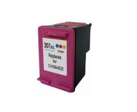 HP 301 XL / CH564EE / CH562EE XL kapacitású színes- color prémium utángyártott tintapatron, patron - hewlett packard (301XL)