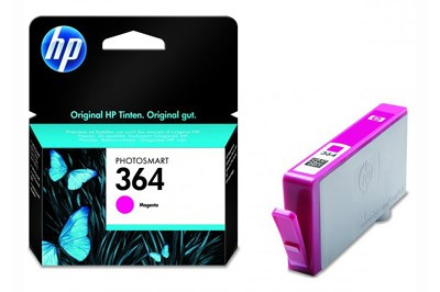 HP CB319EE, 364 (magenta, bíbor)  tintapatron