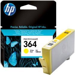 HP CB320EE, 364 (yellow, sárga) tintapatron