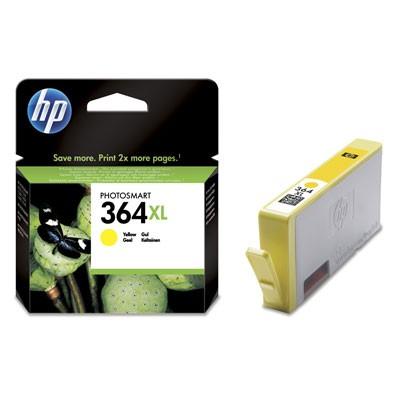 HP CB325EE, 364 XL (yellow, sárga) tintapatron