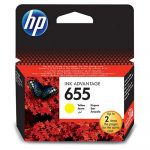 HP CZ112, 655 Y. (sárga) tintapatron