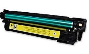 HP CE252A, 504A  (y. sárga) utángyártott prémium kategóriájú toner / HP Color LaserJet CM3530fs HP Color LaserJet CP3525x HP Color LaserJet CP3525dn/