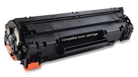 HP 36A / CB436A utángyártott prémium toner 2000old! (Laserjet M1522, P1505, M1120)