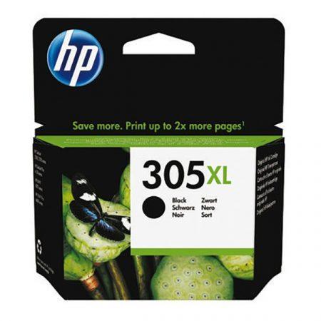 HP 305XL nagy kapacitású fekete eredeti patron 3YM62AE