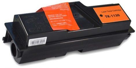Kyocera TK-1130 (FS-1030, FS-1130) utángyártott prémium toner, festékkazetta - fekete, black, (tk1130)