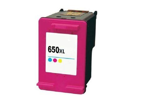 HP 650XL / CZ102AE XL kapacitású  színes-color prémium utángyártott tintapatron, patron- hewlett packard