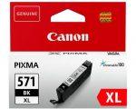 Canon CLI-571 XL BK fotó fekete eredeti patron