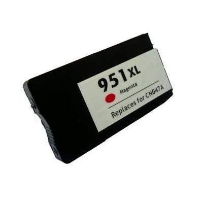 HP 951 XL (m, bíbor) prémium utángyártott tintapatron, (1500 oldal) (CN047)