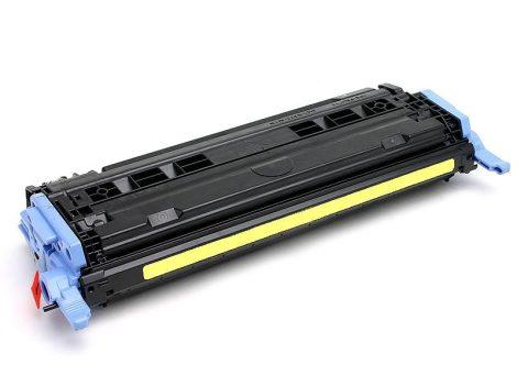 HP Q6002A (y, sárga) utángyártott prémium kategóriájú toner / HP 1600, 2600, 2605/