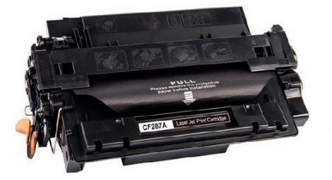 HP CF287A (287A) Black-fekete prémium utángyártott TONER (LaserJet Enterprise M506, LaserJet Enterprise MFP M527) 9000 oldal
