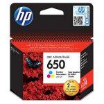 HP CZ102, 650  C. (színes) tintapatron