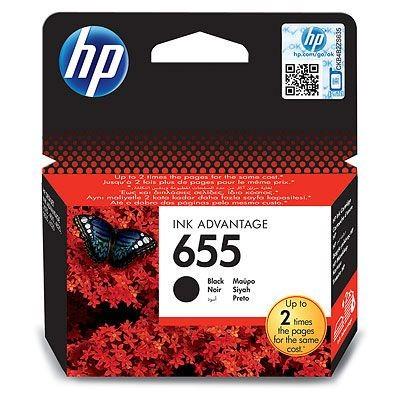 HP CZ109, 655  Bk. (fekete) tintapatron