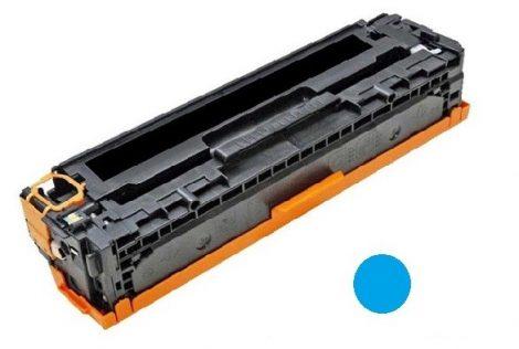 HP CB541A (c, kék) utángyártott prémium kategóriájú toner / HP CP1215, CP1518, CM1312/