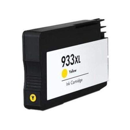 HP 933 XL (y. sárga) prémium utángyártott tintapatron, (850 oldal), (CN056)