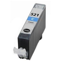 CANON CLI-521 Cyan-kék prémium utángyártott tintapatron Chipes, patron cli521
