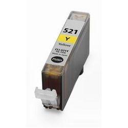 CANON CLI-521 Yellow-sárga prémium utángyártott tintapatron Chipes, patron cli521