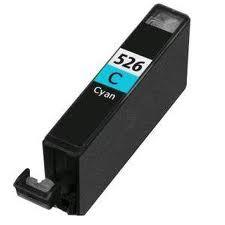 CANON CLI-526 Cyan-kék prémium utángyártott tintapatron Chipes, patron cli526