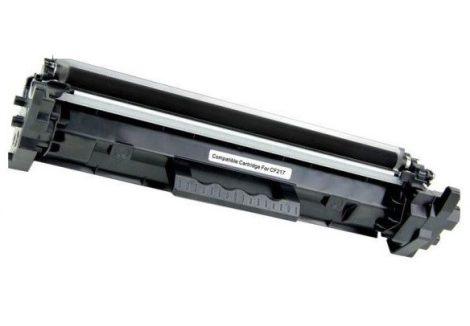 HP CF217X (17X) / CF217A (17A) 6000 oldal / Black-fekete prémium utángyártott TONER (laserjet pro m102, m130) chippes