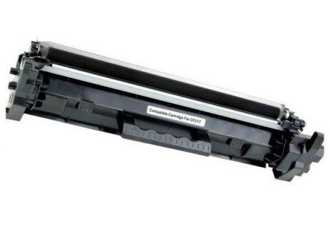 HP CF217X (17X) / CF217A (17A) 6000 oldal / Black-fekete prémium utángyártott TONER (laserjet pro M102 / M130 MFP) chipes