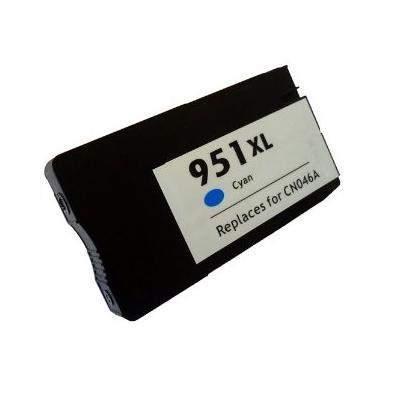HP 951 XL (c,kék) prémium utángyártott tintapatron, (1500 oldal) (CN046)