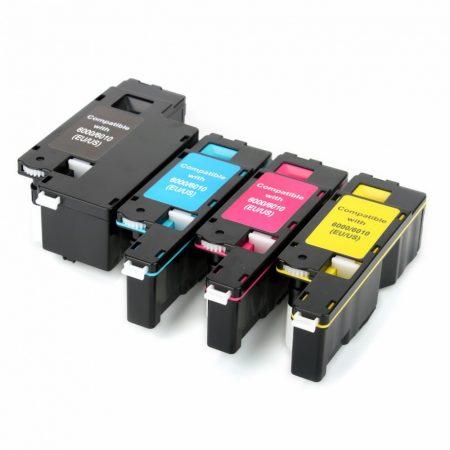 Xerox Phaser 6010 / 6000, WorkCentre 6015 utángyártott prémium toner, fekete-black - 106R01634