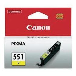 CANON CLI-551 Y (sárga) tintapatron