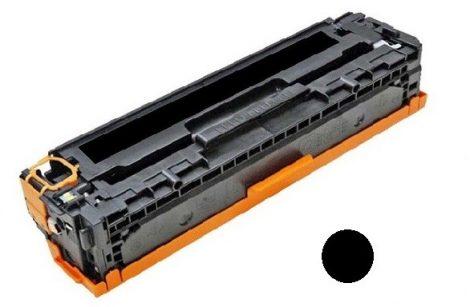 HP CC530A utángyártott prémium toner, black-fekete (Color Laserjet CP2025, CM2320)